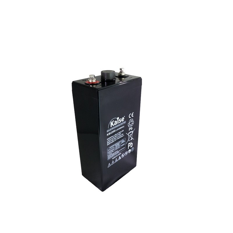 Bateria Kaise Ultra Long Life 2V 200Ah Terminal M8
