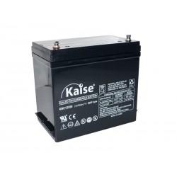 Bateria Kaise Deep Cycle 12V 55Ah Terminal M6