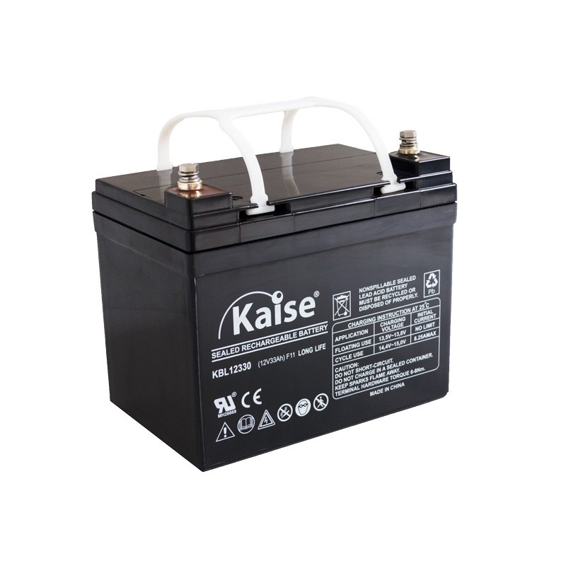 Bateria Kaise Long Life 12V 33Ah Terminal F11