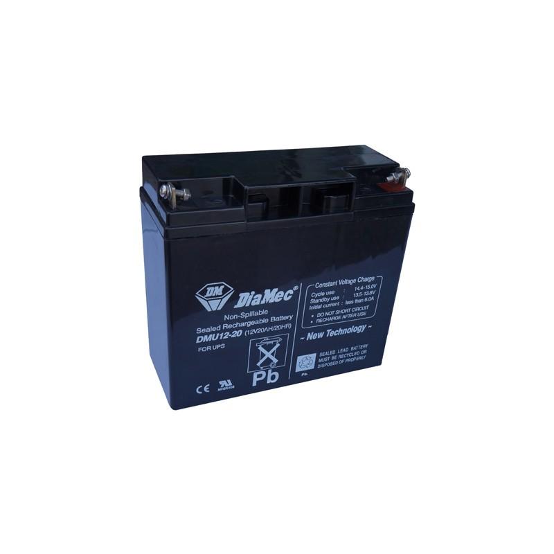 Bateria Diamec 12V 20Ah Terminal M5