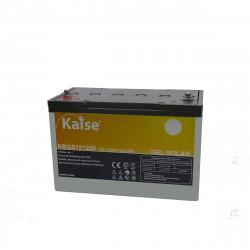 Bateria Kaise Solar Gel 12V 120Ah Terminal M8