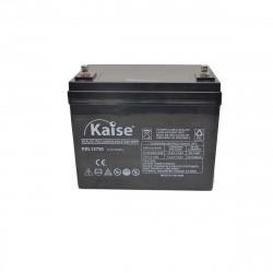 Bateria Kaise Long Life 12V 75Ah Terminal M8