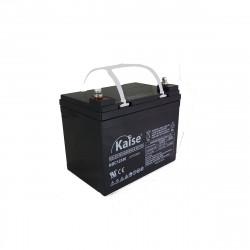 Bateria Kaise Deep Cycle 12V 33Ah Terminal M6