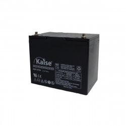 Bateria Kaise Deep Cycle 12V 75Ah Terminal M8