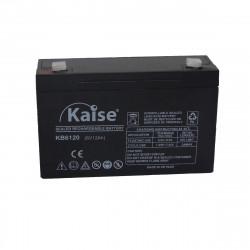 Bateria Kaise Standard 6V 12Ah Terminal F1