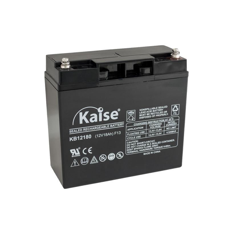 Bateria Kaise Standard 12V 18Ah Terminal M5