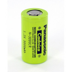 "Pilha Panasonic Industrial Ni-CD -1,2V 3.200MAH ""C"""