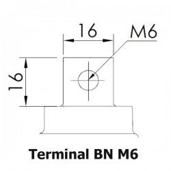 Bateria Panasonic 12V 100Ah Terminal BN M8