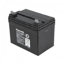 Bateria Panasonic 12V 33Ah Terminal BNM6