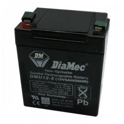 Bateria Diamec 12V 5Ah Terminal F1