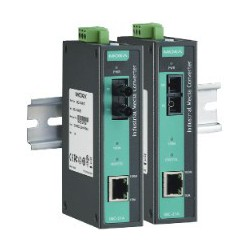 Conversor Compacto Industrial Ethernet-Fibra Moxa