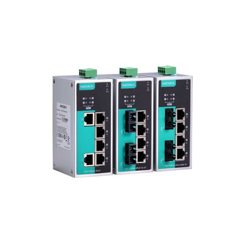 EDS-P206A-4PoE - PoE Ethernet switch