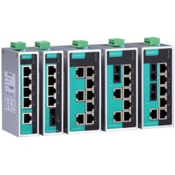 Switch Ethernet EDS-205A-S-SC-T Moxa