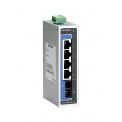 Switch EDS-205A - 4 10/100BastT(X) ports, 1 x 100BaseFX multi-mode, SC